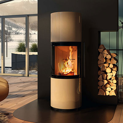 exempel fristaende kaminer spartherm passo s pearl